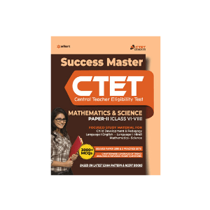Success Master CTET (MATHEMATICS & SCIENCE Paper-II) (Class VI-VIII)