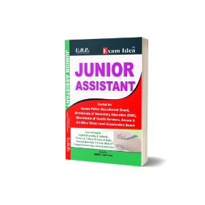 Exam Idea: Junior Assistant Book 2020 (DTO, DSE, DHE etc.)