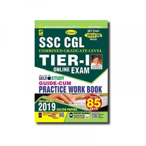 Kiran's SSC CGL Tier-I Online Exam Self Study Guide Cum Practice Work Book 2019