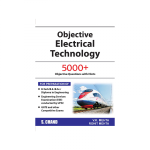 Objective Electrical Technology For APSC, PWD, PHE By V.K Mehta, Rohit Mehta