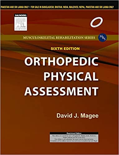 Orthopedic Physical Assessment By David J Magee
