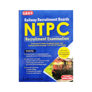 RRB NTPC Recruitment Exam by GBD's Editorial Board