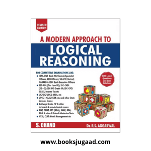 A Modern Approach to Logical Reasoning By Dr. R.S.Aggarwal