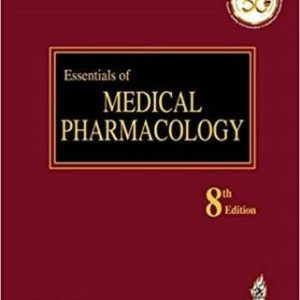 Essentials of Medical Pharmacology By K. D. Tripathi