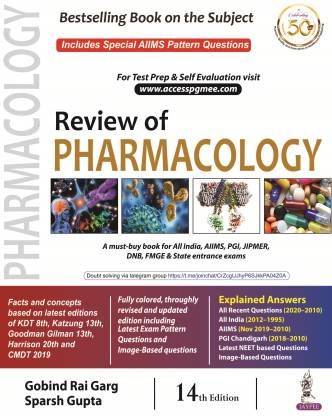 Review of Pharmacology 14th Edition