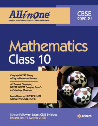 Cbse All in One Mathematics Class 10