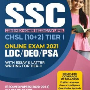 SSC CHSL(10+2) TIER-I Guide Combined Higher Secondary Level 2021