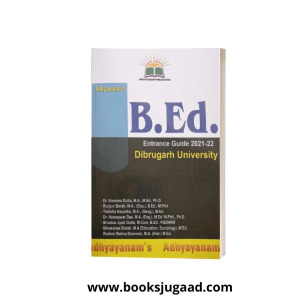 B.Ed Entrance Guide 2021-22 of D.U By Adhyayanam Publication