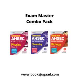 Exam Master AHSEC Physics, Chemistry, Biology Class 12 2021-2022